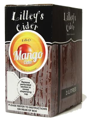 Lilleys Mango Cider