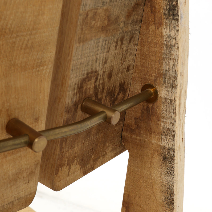 new tree trunk chair | natural