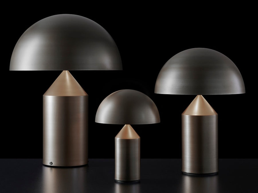 atollo metal table lamp bronze