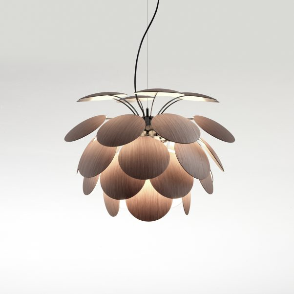 Discocó 68 wood pendant lamp