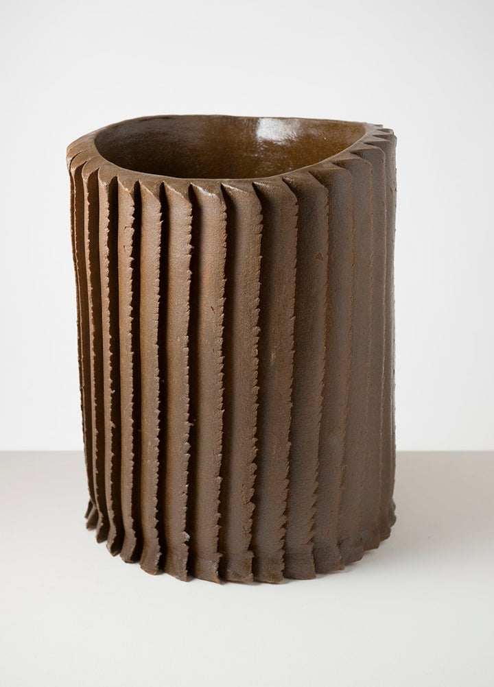 Pressed Saw vase | large