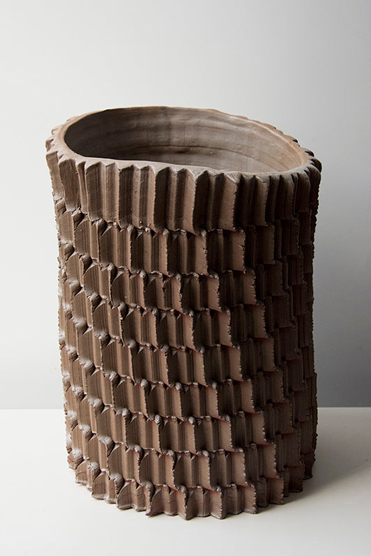 Pressed Sawguana vase | XL