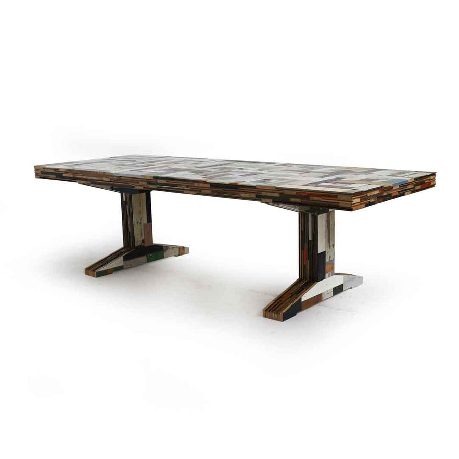 waste scrapwood table