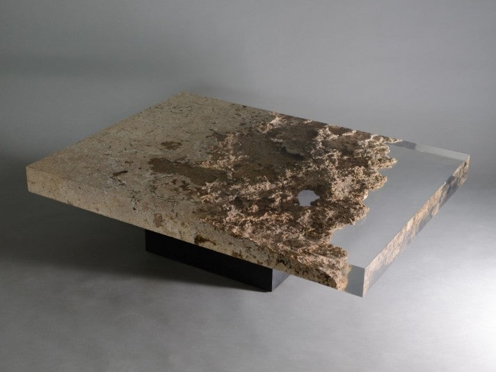 rapolano travertine | low table
