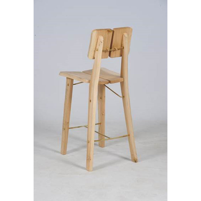 new tree trunk bar stool natural