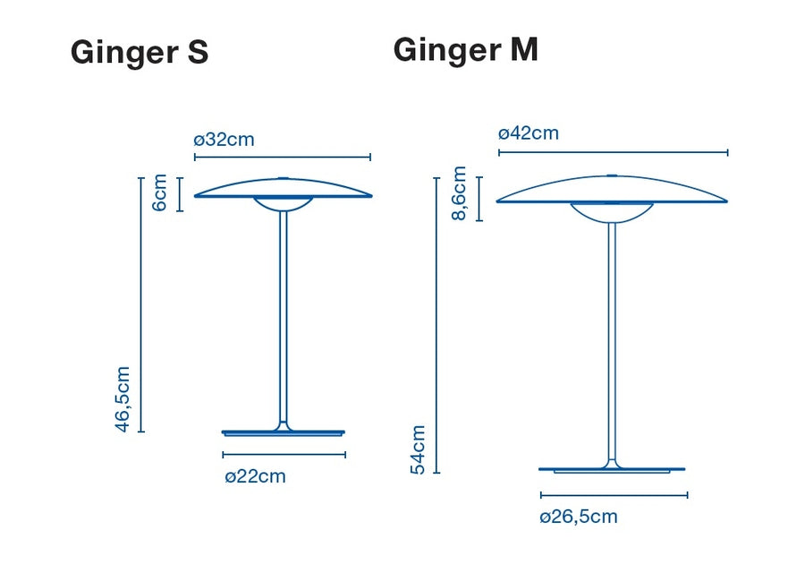 Ginger table lamp