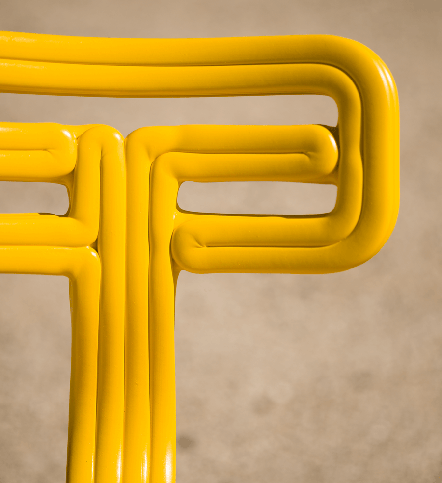 chubby yellow | chair