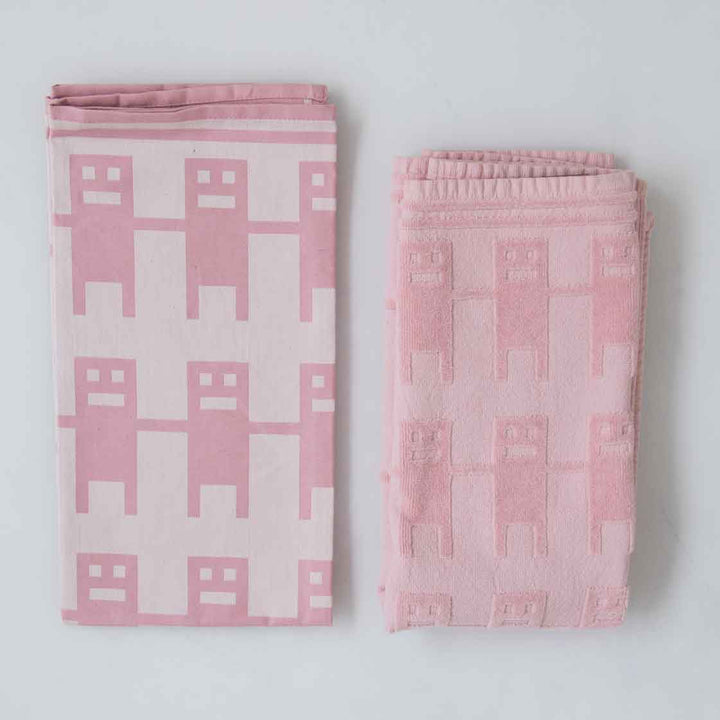 hand in hand | towels