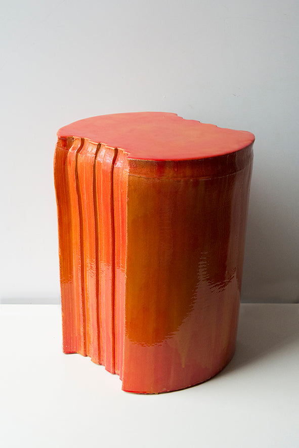 Pressed model 4 with resin | stool