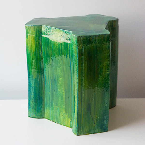 Pressed model 5 with resin | stool