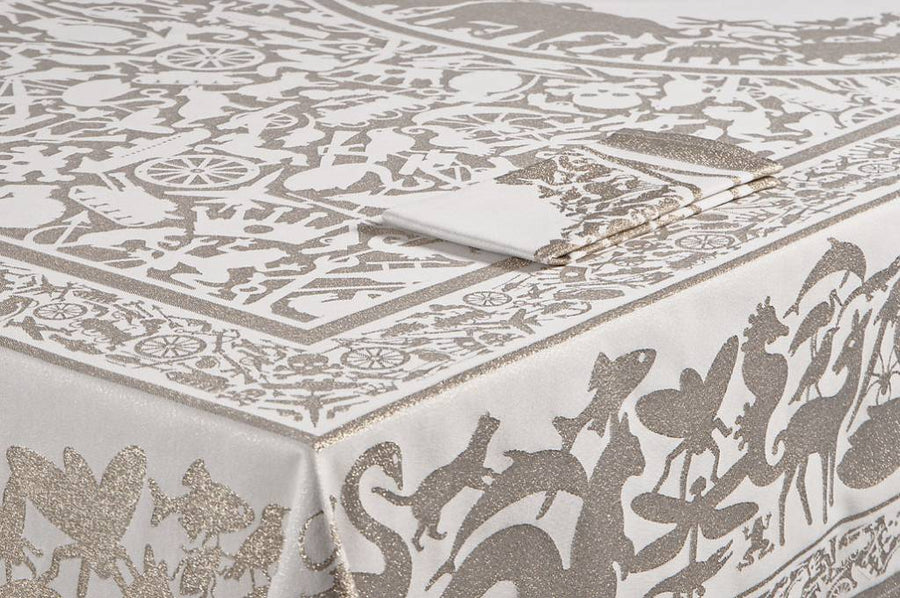 pantheon gold | table cloth