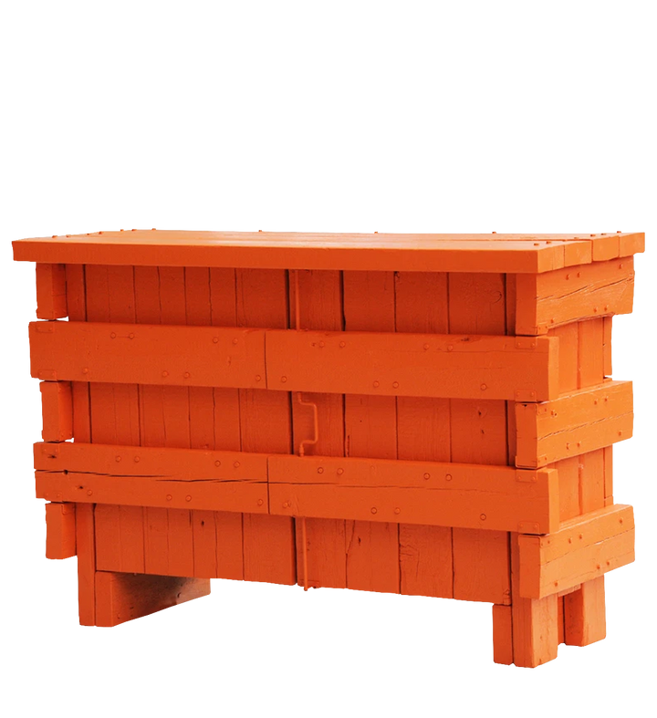 beam sideboard orange | cabinet