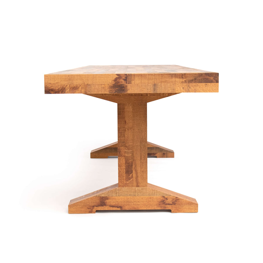 canteen table in oak | dining table