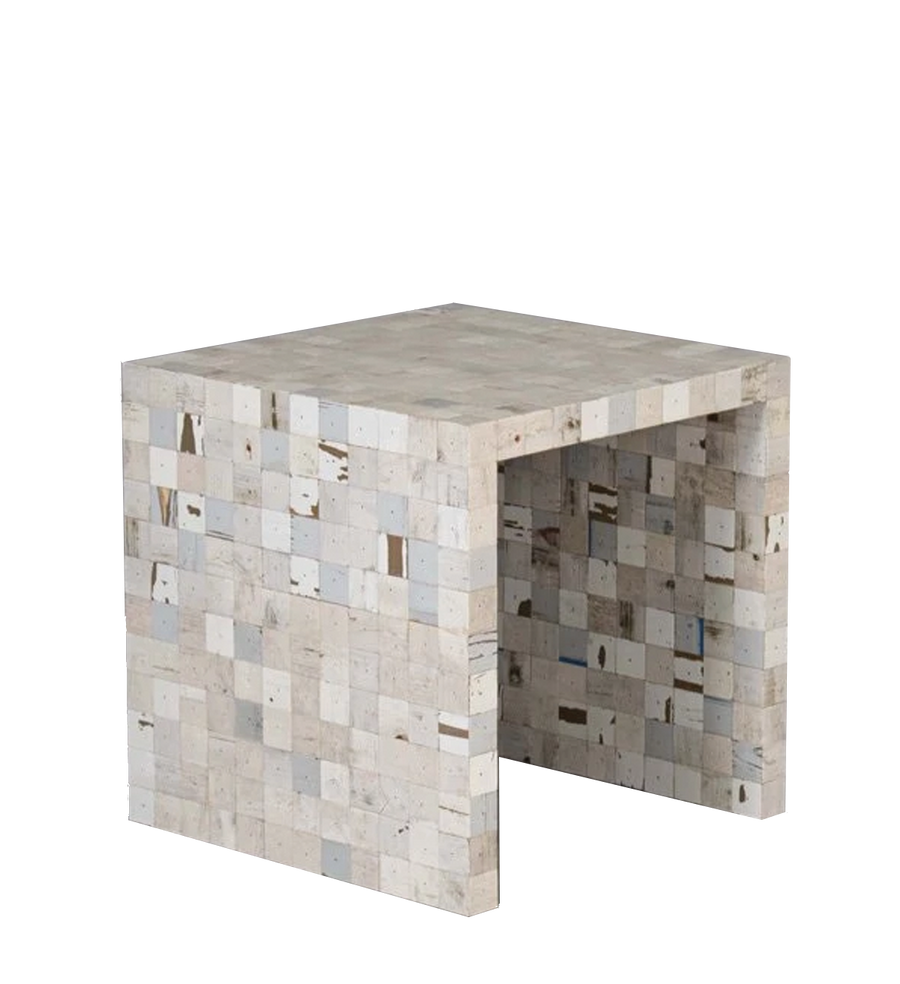 40 x 40 waste waste cube sides | side table