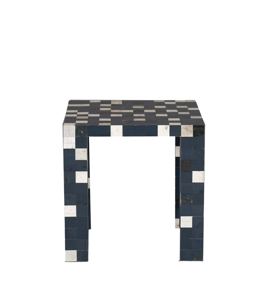40 x 40 waste waste cube legs | side table