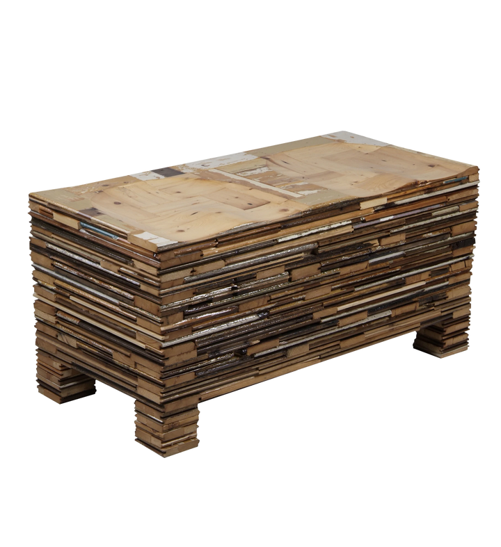 waste stacked stool