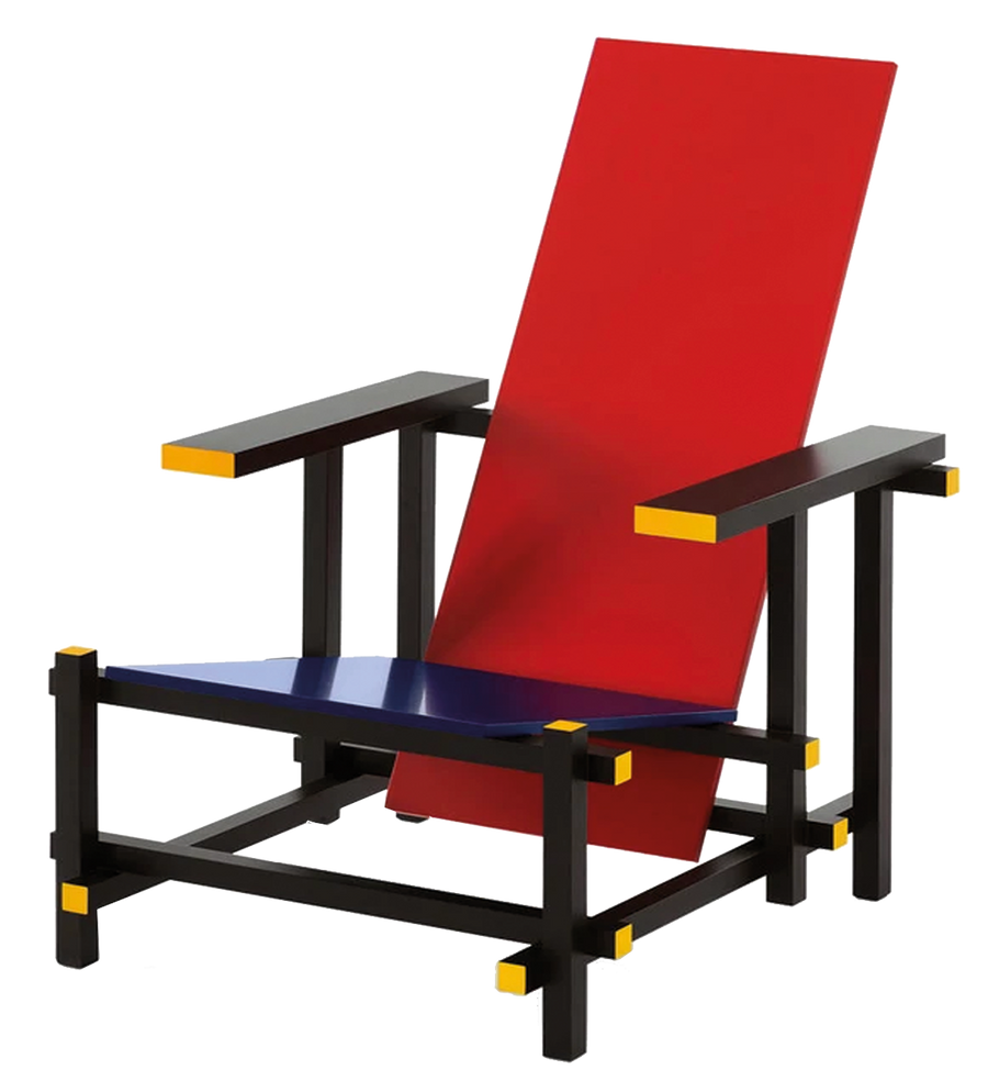 635 rietveld | fauteuil