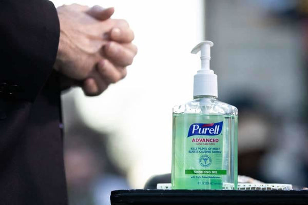 Student suspended from school for selling 'squirts' of hand sanitizer to classmates