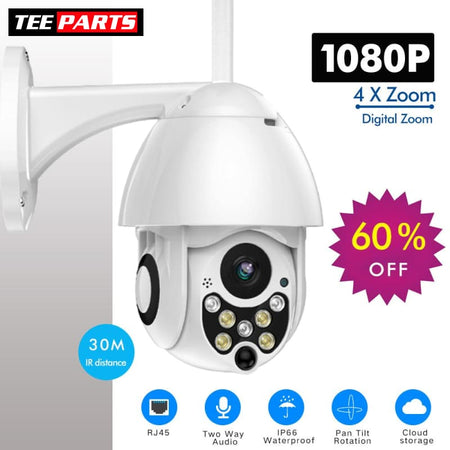 1080P WavyCam+ Outdoor WiFi Camera Surveillance - outdoors - tech - things