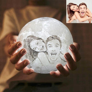 16 COLOR Customized Moon Lamp Remote controlled