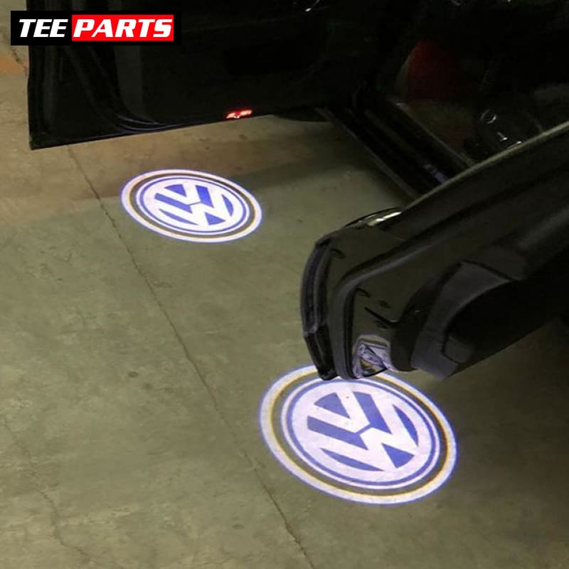2 Car Door Lights Welcome Logo