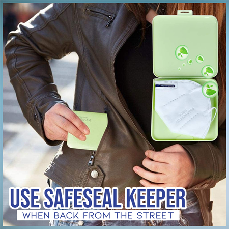 SafeSeal Face Cover Keeper tee parts