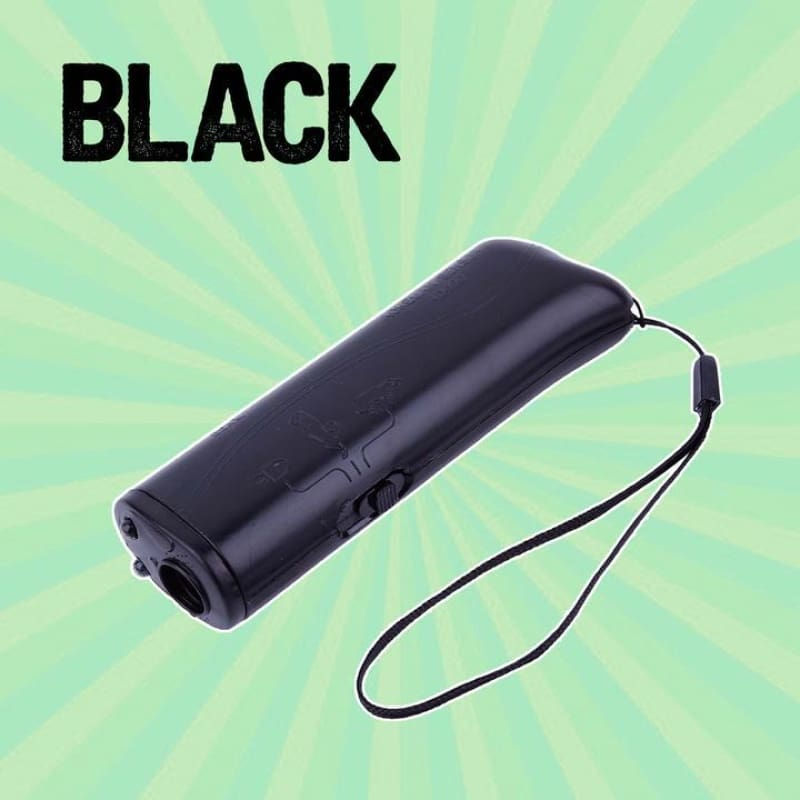 3in1 Pet Training Devices - Black - pet