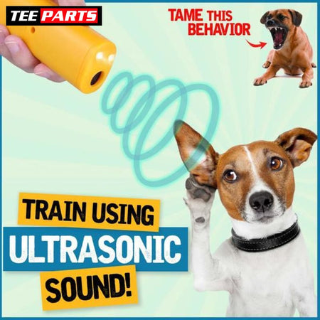 3in1 Pet Training Devices - Yellow - pet
