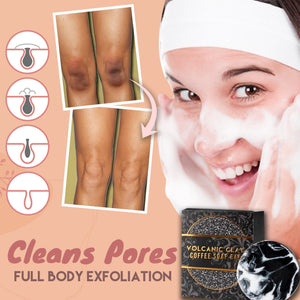 Volcanic Slimming Clay Caffeine Shower Bar tee parts