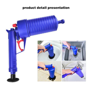 Air Power Clog Remover Pump - High Pressure Plunger - home - things