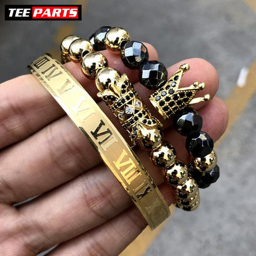 FERRARI X ROYAL GOLD 3 PCS - bracelet