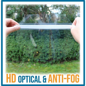 Full-Cover Anti-Droplets Face Shield - Safe