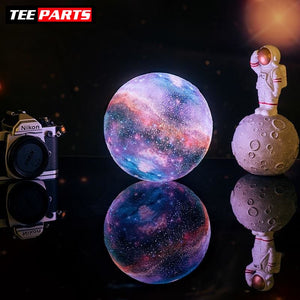 Galaxy Moon Lamp Colorful - Usb Led Night Light