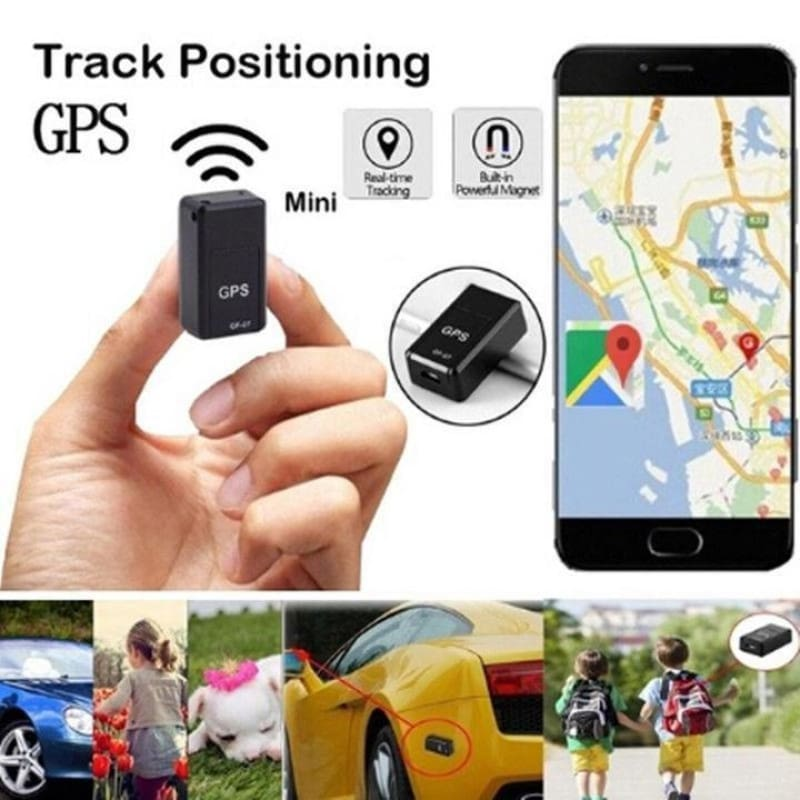 Magnetic Mini GPS Real-time - Voice Control