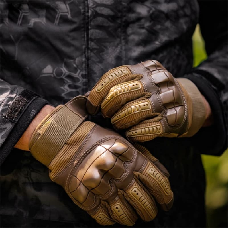 Military Tactical Gloves Full & No Fingers