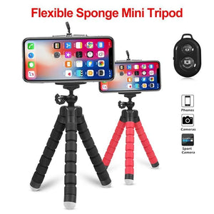 Mini Tripod & Remote For Phones - phone tripod