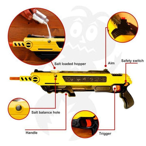 Pest Buster! - Flies Salt Gun - Say goodbye to pest invasion!