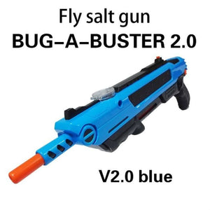 Pest Buster! - Flies Salt Gun - Say goodbye to pest invasion! - Regular version / Blue