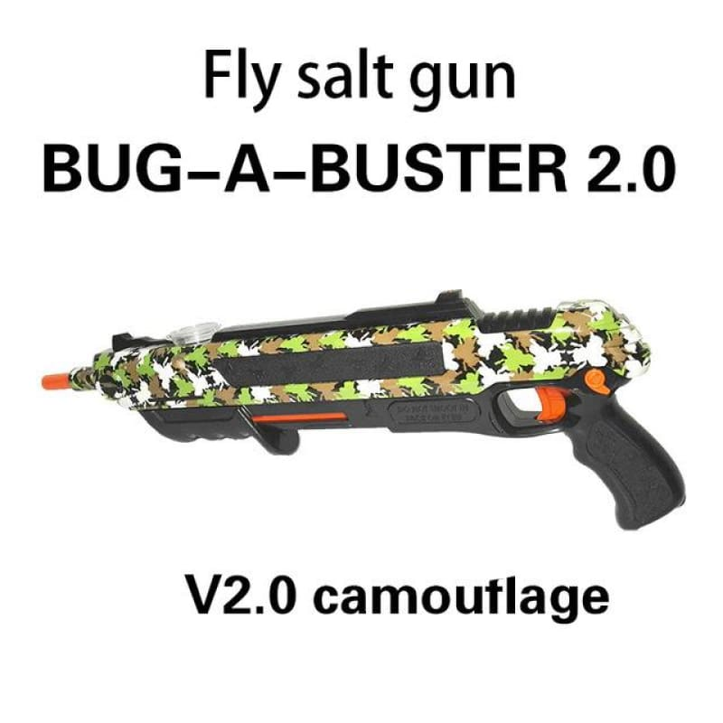 Pest Buster! - Flies Salt Gun - Say goodbye to pest invasion! - Regular version / Camouflage
