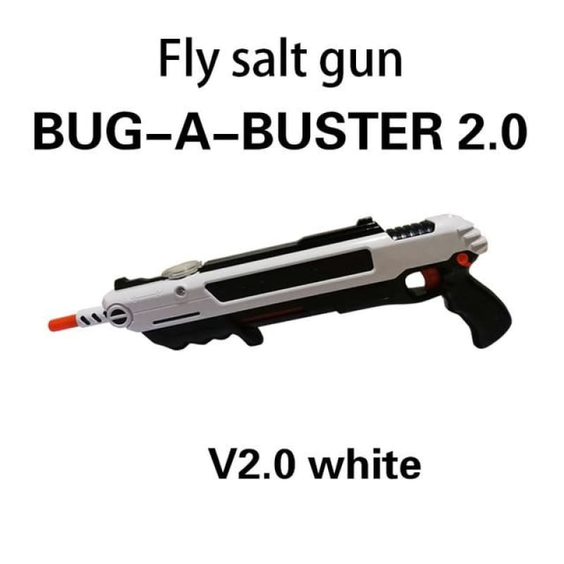 Pest Buster! - Flies Salt Gun - Say goodbye to pest invasion! - Regular version / White