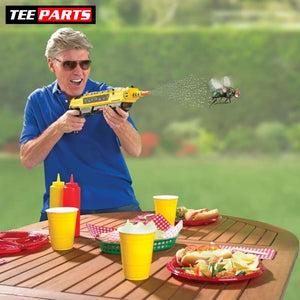 Pest Buster! - Flies Salt Gun - Say goodbye to pest invasion! - Regular version / Yellow - kids - outdoors - toy - toys