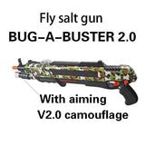 Pest Buster! - Flies Salt Gun - Say goodbye to pest invasion! - Upgraded version (infrared sight) / Camouflage With Aim