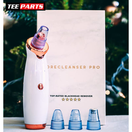 PoreCleanser Microderm Can Reduce The Appearance Of Wrinkles and Blemishes - white/gold - Pore Cleaner - care - tech - things