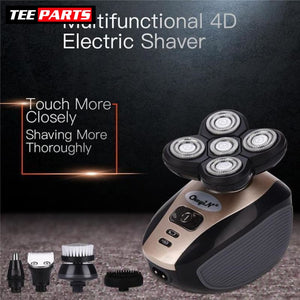 Premium 4D Waterproof USB Rechargeable Shaver