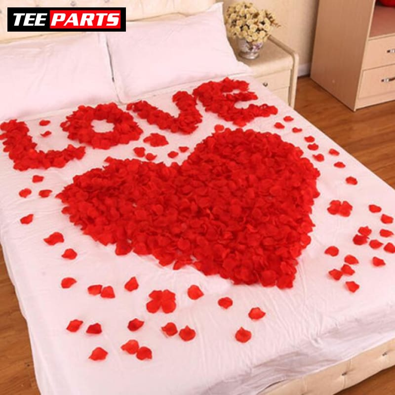 Rose Petal Decoration For Valentine Day - Make it Special