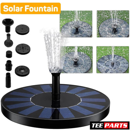 Solar Bird Water Fountain - Solar Fountain - garden - pet - pets