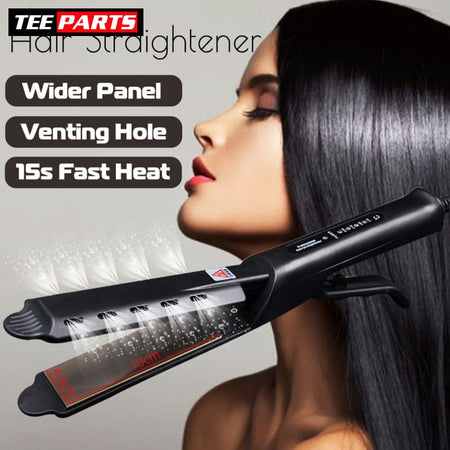 Steam straightener - United States / black / EU - beauty