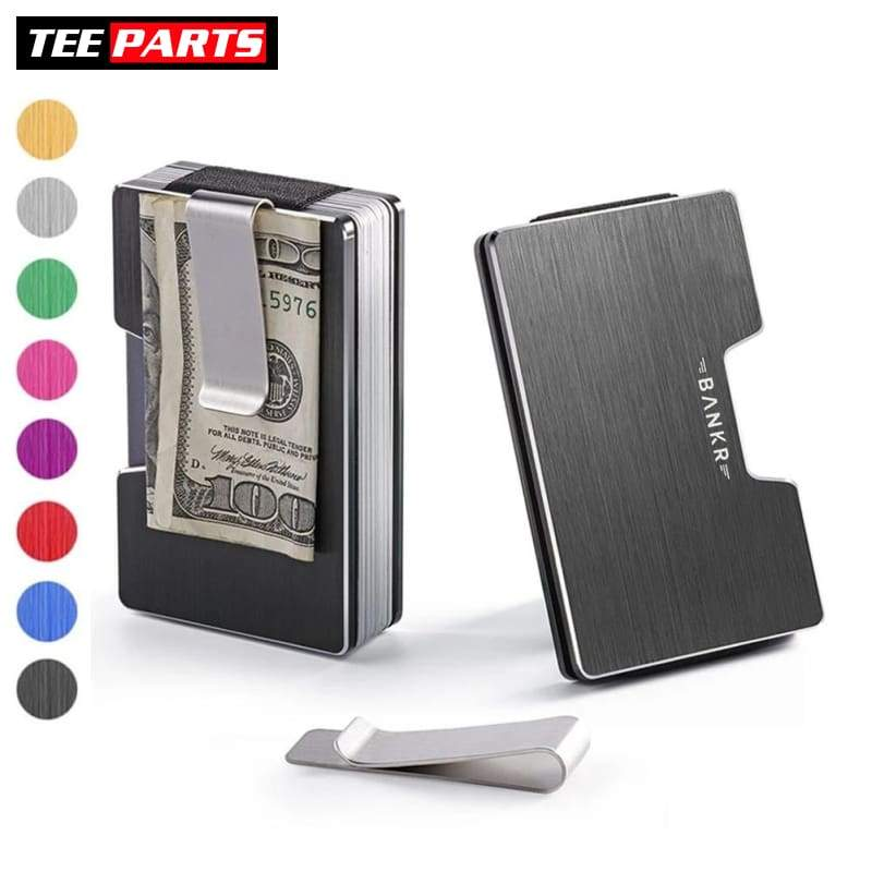 The Stack™ RFID Wallet - Black - wallet - home - personal