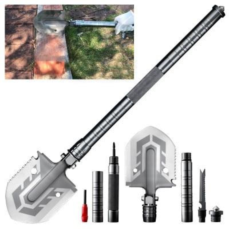 The Ultimate Survival Tool 23-in-1 Multi-Purpose Folding Shovel
