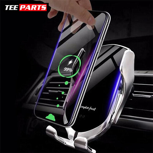 Wireless Automatic Sensor Car Phone Holder and Charger - auto - cell - tech - things